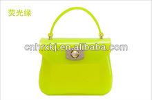 Ladies Shopping Handbags Designer Transparent Clear PVC Handbag 2013 Jelly Tote Bags Shenzhen Factory
