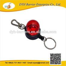 2014 newest warning light shape badge reel with flash lights