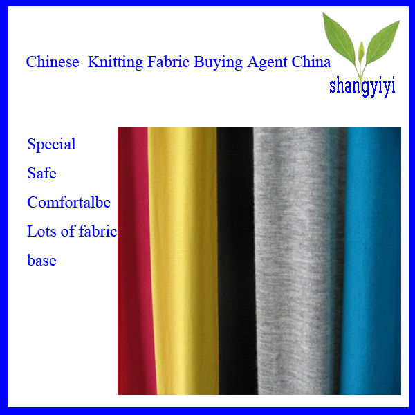 Chinese Knitting Fabric Buying Agent China
