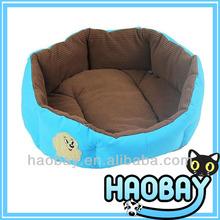 Bright Blue Stylish Dog Basket Pet Bed