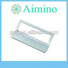 zinc alloy matt chrome style furniture kitchen D pull handle