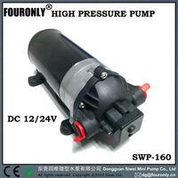 SWP-160 series high pressure water pump 12v dc motor