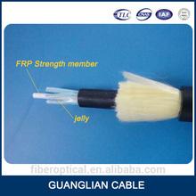Single mode aerial non-metallic g652d fiber optic cable manufacturers