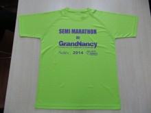 Polyester Spandex dri fit Soft feeling Men Training Gym T shirts