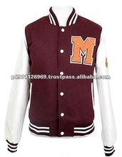 Cheap wholesale Varsity Jackets custom baseball jacket men