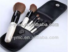 6 pcs travel brush set portable china makeup tool kits