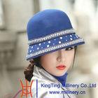 2014 New elegant beautiful german wool felt hat