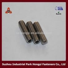 din916 stainless steel hexagon socket blind set screws