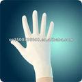 equipo médico de suministro dental desechables guantes de goma de malasia