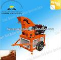Comprimé ly1-20 mobile, machine brique de terre pour la vente
