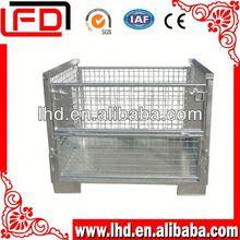 eu market fruit storage folding steel storage cage