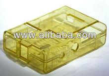 Raspberry Pi Case / Box - High Quality (Yellow Transparent)