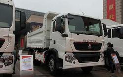 sinotruck 40 ton dump truck for sale, 10 wheel dump truck capacity, HOWO dump truck, tipper dumper lorry, HYVA lifting system