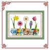 NKF Home of blessings (colorful life) cross-stitch