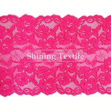 Jacquard And Textornic Nylon Spandex Designer Lace Sarees For Underwear