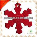 Árvore de natal sentiu decoração de suspensão decoração / festival de domicílios ornamento decoração