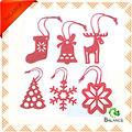 Noël estimé décoration/estimé décoration ornement de noël suspendus