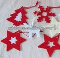 Natal de feltro decoração / papai artesanato de feltro