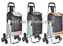 multifunction durable foldable shopping trolley bag