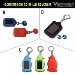 LED Solar Keychain