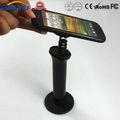 preto amplamente utilizado de exibição de segurança ajustável titular do telefone celular