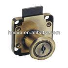 high quality anti brass small hidden drawer lock