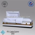 Luxury 20 gauge metal casket(2044)