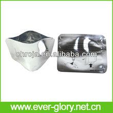 Eco Friendly Transparent Aluminum Foil Bottom Gueest Hang Hole Plastic Pouches