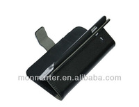 Hot sale book style wallet flip leather case for samsung galaxy core i8260 i8262