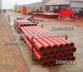 la bomba de hormigón la entrega de la instalación de tuberías de fábrica en china