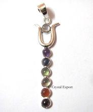 Twin Snake Chakra Pendants : Wholesale Chakras Pendants, Chakra Jewllery - Crystal Export