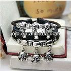 new skull bracelet metal charms for paracord bracelets making metal buckles survival paracord bracelet buckles