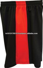 black and orange basketball shorts