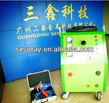 Zinc alloy spray machine SX-400W pull twin wire arc spray machine for zinc aluminum spray