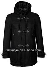 British style winter parker long man coat jacket