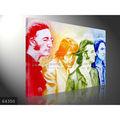 100% fatto a mano celebrità famosa cantanti pop art dipinto ad olio su tela, Beatles
