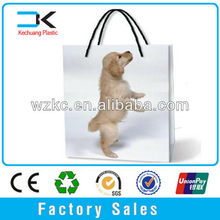Shopping t-shirt packing plastic bag a4 size