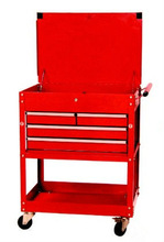 4 Drawer Tool Service Cart Tool Trolley LZ-3314-4A