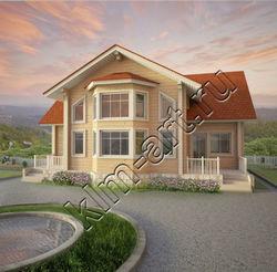 Timber house set 209m2