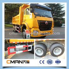 China Cheap HOWO 8*4 Dumper Big Trucks Price