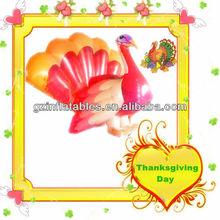 big inflatable turkey Thanksgiving festival cartoon