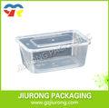 Tamanho e cor pode ser personalizado descartável de alta temperatura microondas caixa de almoço