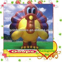 Thanksgiving advertising inflatable turkey cartoon model