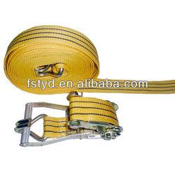 Foshan cargo lashing strap belt 4wd snatch strap cam locking buckle strap