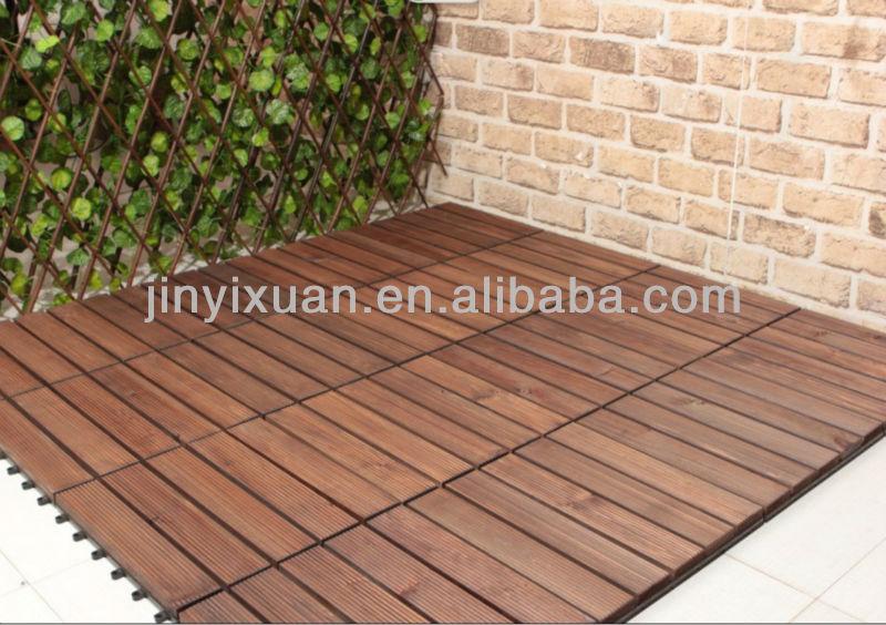 Attractive Patio Wood Tiles WB Designs