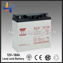 sealed lead acid battery 12v 18ah for ups (uninterrupted sower supply)