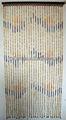 mejor diseño de sala de madera y de bambú de cuentas cortina de puerta
