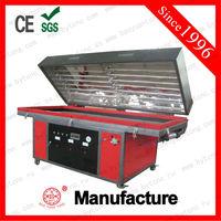 2013 Hot! Vacuum membrane press veneer /PVC Lamination for quick furniture making