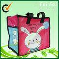 feifei conejo encantador laminado bolsas de cremallera