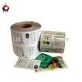 custom impressão de filme de qualidade alimentar saquinho de pacotes para a amostra de xampu